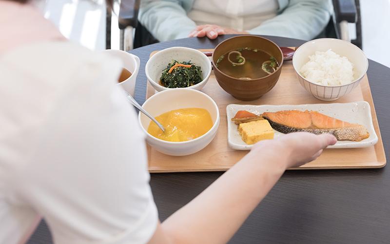 安全・やさしい・患者さま個々に適合する食事イメージ